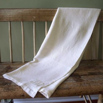 Solstice Blanket - white on white