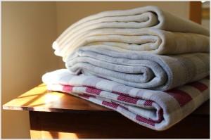 handmade wool blankets made in Maine USA