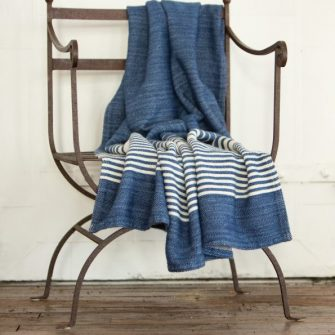 Penobscot, Nautical Blue with White Stripe