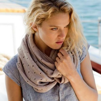 Coastal Cowl - close
