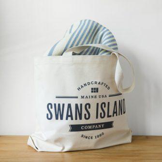 Penobscot + Swans Island Tote
