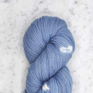 Ikat Firefly fingering swatch - twilight