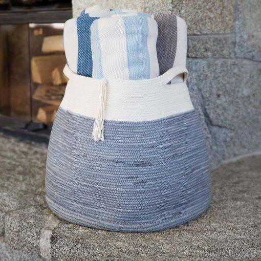 Cottage Floor Basket
