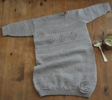 Sleeping Cedars Bunting Knitting Pattern Swans Island Company