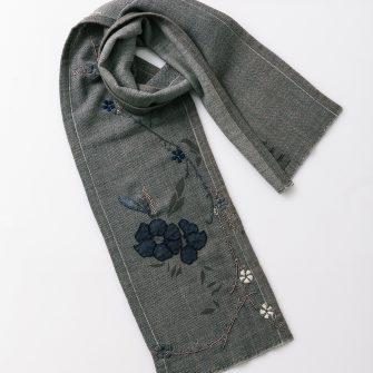 Dayton scarf - Charcoal