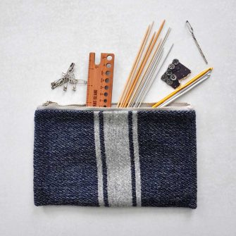 All American Clutch as Knitting Bag