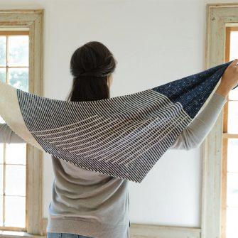 Juliette Shawl Knitting Pattern Swans Island Company