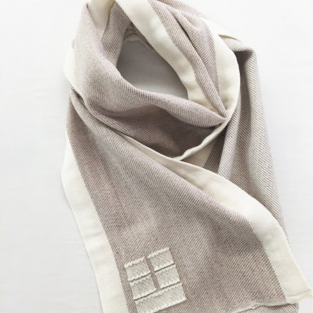 Blue Hill Scarf, Oatmeal