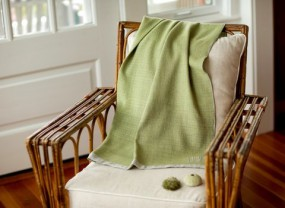 Swans Island Katahdin Thyme Color Throw