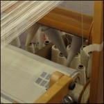 Weaving Swans Island Blankets