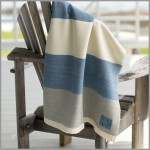 Swans Island summer weight Coastal Throw