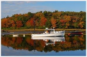 Swans Island suggests Kennebunkport for a Fall weekend escapes in Maine