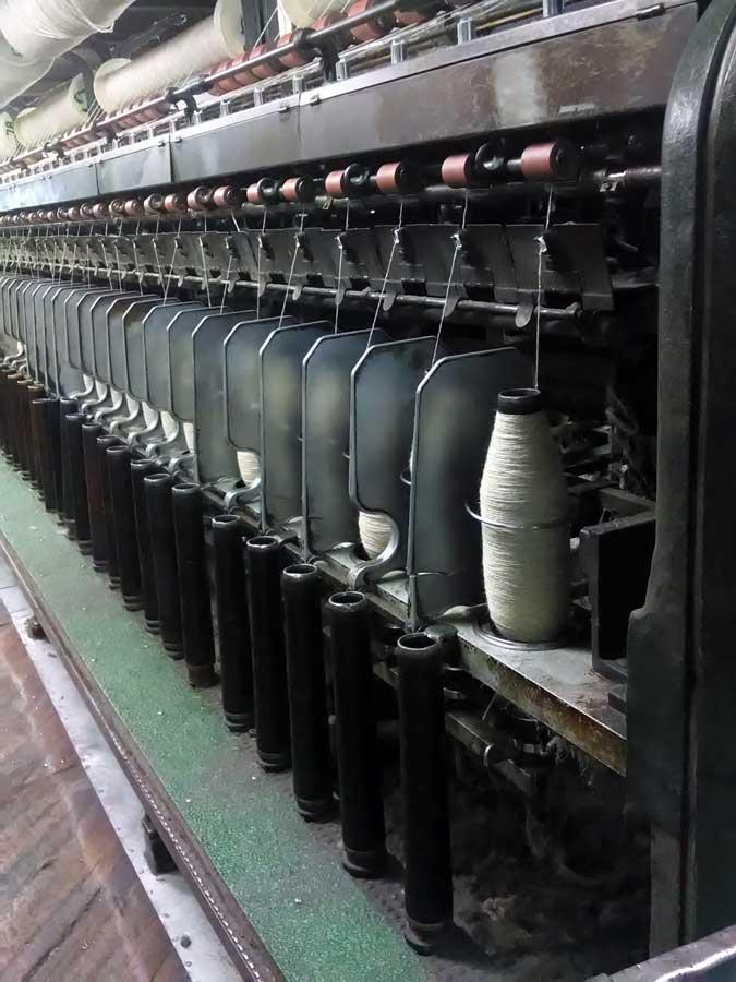yarn spinning, Swans Island