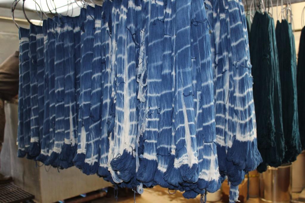 Swans Island Ikat yarn