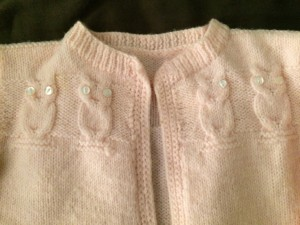 Hand Knit Baby Sweaters